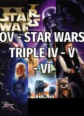 OV - STAR WARS TRIPLE IV - V - VI